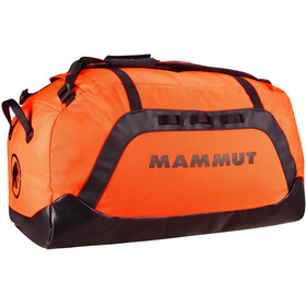 Mammut Cargon Borsa 90L, safety orange/black